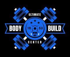 Vecteurs de Bodybuilder exceptionnels vecteur