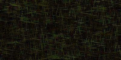 disposition de vecteur vert foncé, jaune avec des lignes plates.