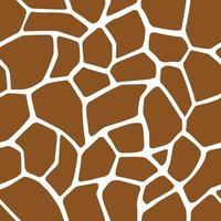 girafe taches motif sans soudure de fond peaux d'animaux vecteur