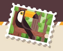 Brasil Illustration de timbre-poste