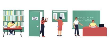 seth pour illustrer la scolarité vecteur