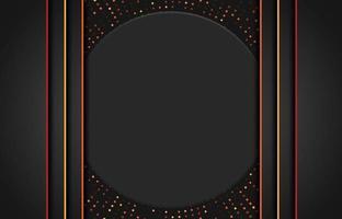 fond moderne avec effet scintillant. fond abstrait papier découpé réaliste. fond géométrique abstrait. illustration vectorielle 3d. illustration vectorielle eps 10
