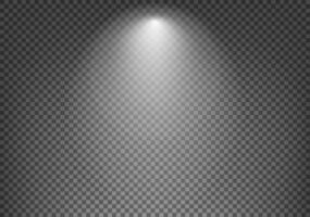 fond d'effet de projecteur vecteur