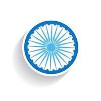 drapeau indien vecteur