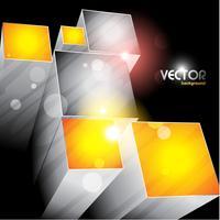 conception de formes de cubes vecteur