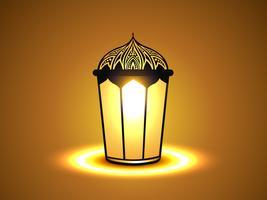 lampe rougeoyante vecteur