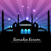 fond de ramadan kareem vecteur