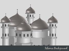 fond islamique vecteur