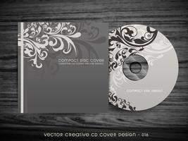 conception de la couverture de cd vecteur