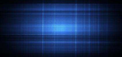 abstrait bleu avec texture de lignes de grille blanche. concept technologique. vecteur