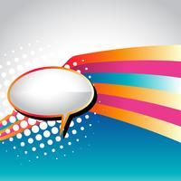bulle de dialogue vecteur