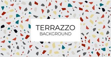 fond de terrazzo - motif de carreaux de sol en terrazzo fond abstrait Vecteur gratuit