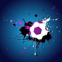 football abstrait vecteur
