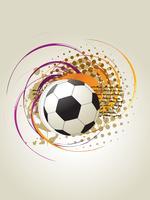 Football art vectoriel