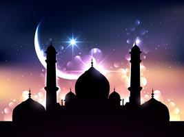 conception de vecteur de ramadan