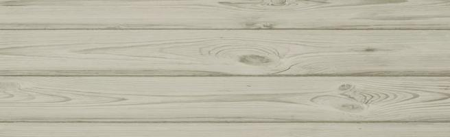 texture panoramique de bois clair avec noeuds - vecteur