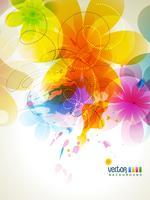 fond coloré vecteur