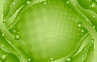 composition de fond vert abstrait dégradé vecteur