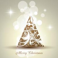 arbre de Noël de vecteur