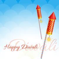 conception créative de diwali vecteur