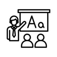 icône de vecteur de classe