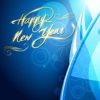Conception de la nouvelle année 2012 vecteur