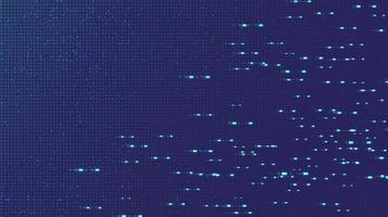fond de technologie de puce de circuit électronique de lumière violette vecteur
