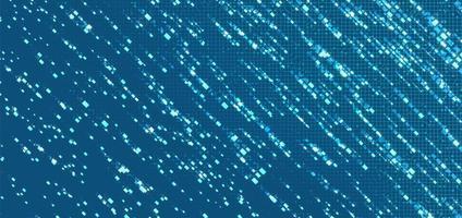 fond de technologie de micropuce de circuit électronique de lumière bleue vecteur