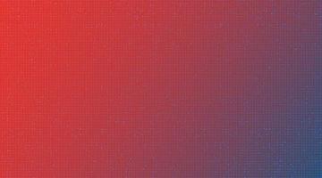 puce de circuit rouge sur fond de technologie vecteur