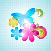 papillon de vecteur