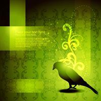 Vector oeuvre de beaux oiseaux