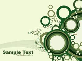 Conception de vecteur de cercles