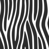lignes de zèbre modèle sans couture imprimer dessin vectoriel de texture fond