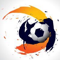 football abstrait vectoriel