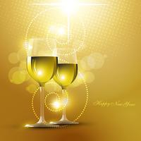 verre de vin vecteur