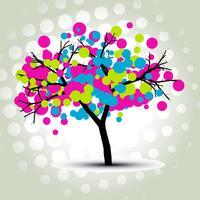 arbre de vecteur élégant