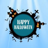 conception créative de halloween vecteur