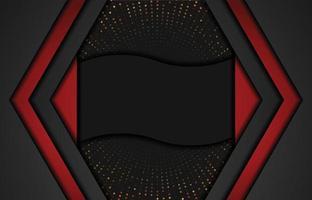 fond moderne avec effet scintillant. fond abstrait papier découpé réaliste. fond géométrique abstrait. illustration vectorielle 3d. illustration vectorielle eps 10 vecteur