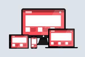 concept de design web vecteur