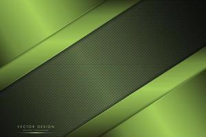 fond vert métallique de luxe vecteur