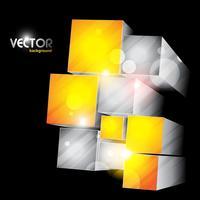formes de cube vecteur