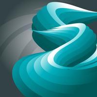 conception de vagues vectorielles vecteur