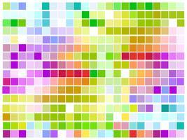 mosaïque colorée de vecteur