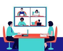 solution des problématiques actuelles de l'entreprise via la communication vidéo vecteur