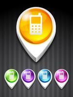 icône mobile vecteur