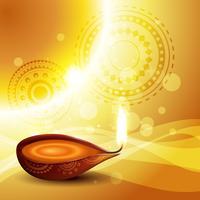 fond de festival de diwali vecteur