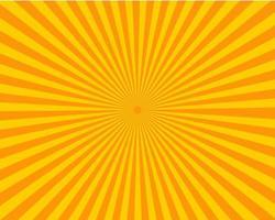 motif soleil sunburst vecteur