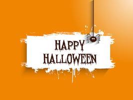Halloween araignée fond 2508 vecteur