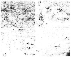 pack de vecteur de textures grunge. texture de grain, texture rugueuse, texture vintage. effet en détresse. texture de détresse.