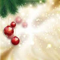 Boules de Noël vecteur